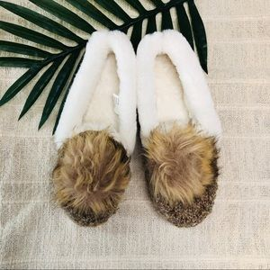 So | Faux Fur Slippers